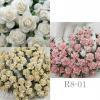 Mixed Mixed Soft Pink Cream White Paper Flowers (147/15/2)