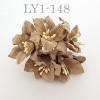SOFT Brown Lilly Crafts Paper Flowers
