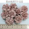 10 Mixed 2 Designs Paper Flowers Blush Pink Shade