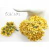 Yellow Small Spring Cottage Paper Flowers