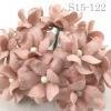 Blush Pink Small Spring Cottage Paper Flowers