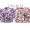 Mixed JUST Soft Pink - Lilac Small Spring Cottage Paper Flowers