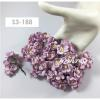 50 Soft Purple Cherry Blossoms paper flowers