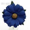Solid Nany Blue Daisy Flowers
