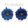 Mixed JUST Denim - Navy Blue Daisy Flowers