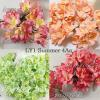 50 Mixed 4 Colors Lily Paper Flowers (50/99/161/526 )