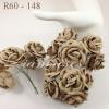 25 Taupe paper flowers - SALE -