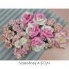 39 Mixed Pink Handmade Crafts Paper Flowers
