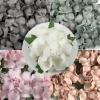 50Mixed Pink Grey paper Flowers (2/122/723/725/15)
