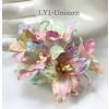 50 Special Dyed Unicorn Color Lily Paper Flowers
