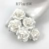 "MEDIUM 1.5"" Snow White Roses (M) *Pre-Order*"