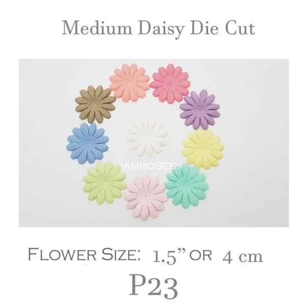 Small Daisy Die Cut - P23