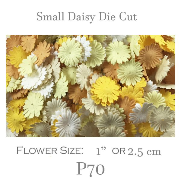 Small Daisy Die Cut - P70