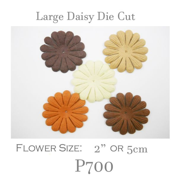 Small Daisy Die Cut - P700