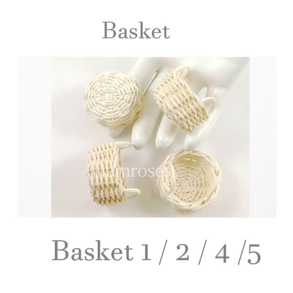 Wood Wickerwork Baskets