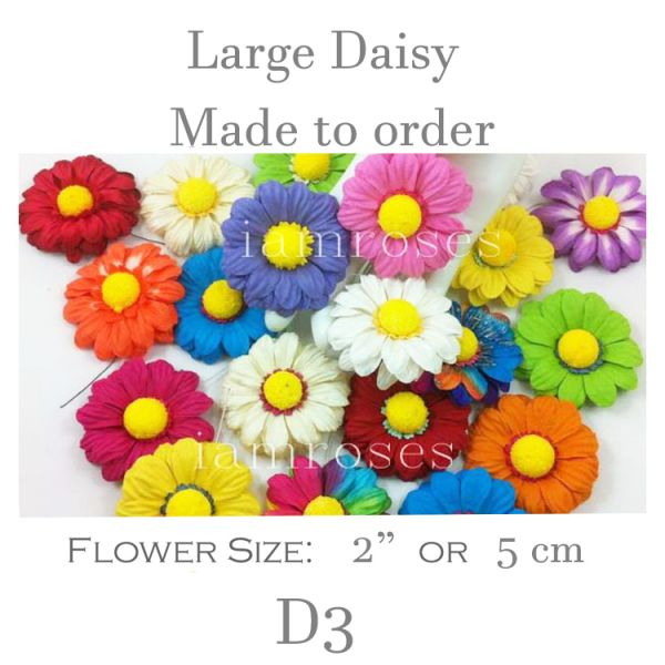 Large Daisy D3 Made to order
