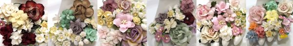 Paper flowers craft supply wholesale from thailand by i am roses for every additional 50 receive a free extra gift shown above mightylinksfo