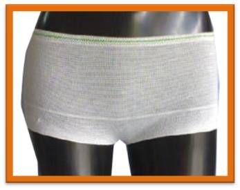 DSN-011 WHITE NYLON DISPOSABLE UNDERWEAR