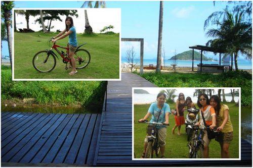 ปั่นจักรยานเที่ยวรอบเกาะหมาก