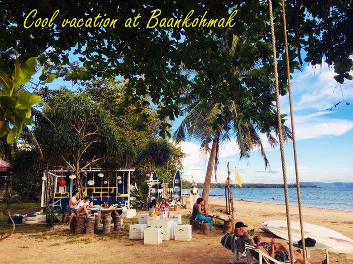 บ้านเกาะหมาก ทะเลบาร์ Talaybar baankohmak