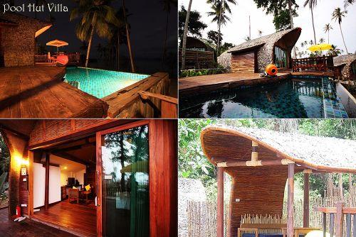 Pool Hut Villa เกาะหมาก ซินนาม่อนอาร์ตรีสอร์ทแอนด์สปา