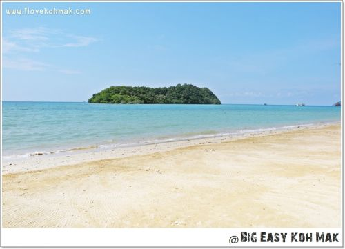 ชายหาดหน้าบิ๊กอีซี่เกาะหมาก