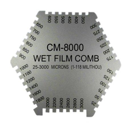 Wet Film Comb Coating Thickness เครื่องวัดความหนาสีแบบเปียก