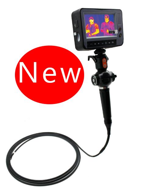กล้องส่องในท่อ กล้องส่องในเครื่องยนต์ พื้นที่แคบ Borescope Model ITK-4W