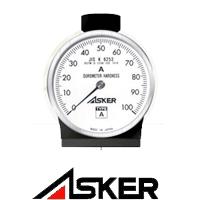 Manual Durometer Asker เครื่องวัดความแข็งยางและพลาสติก แบบเข็ม แบรนด์ Asker www.itokin2000.com