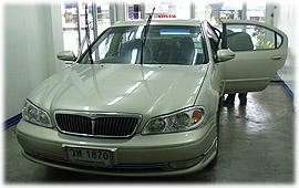 รถยนต์ท่านลูกค้า ไว้วางใจใช้บริการติดฟิล์มกรองแสง