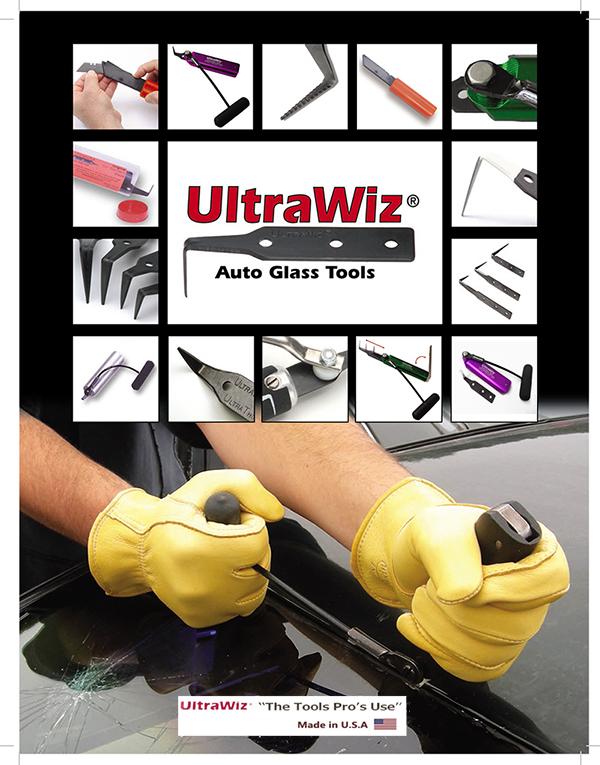 มีดตัดกาวกระจกรถยนต์ UltraWiz