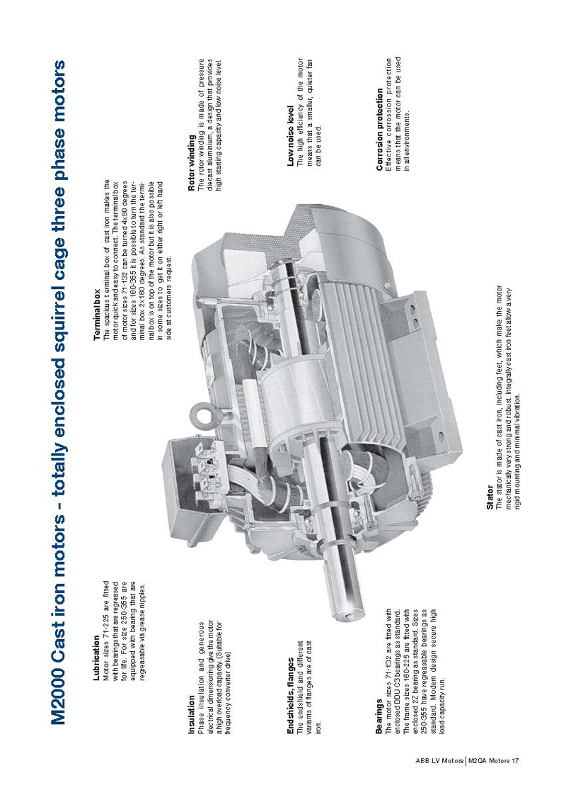 Induction motor catalogue abb 28 images abb launches for Abb electric motor catalogue