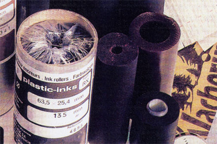 หมึกพิมพ์วันที่ผลิต วันหมดอายุ แบบลูกหมึก Plastic Ink
