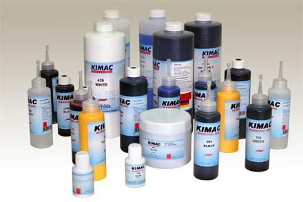 หมึกพิมพ์วันที่ผลิต วันหมดอายุลงบนวัสดุไม่ซับหมึก : Kimac Ink
