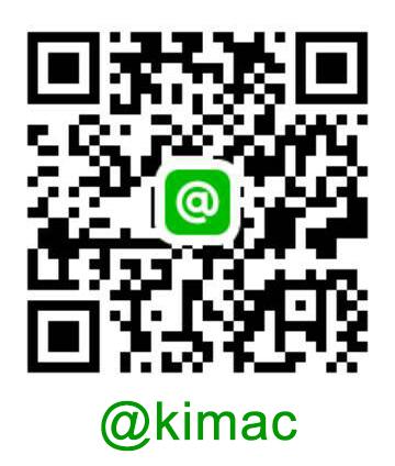 QR Code Line @kimac