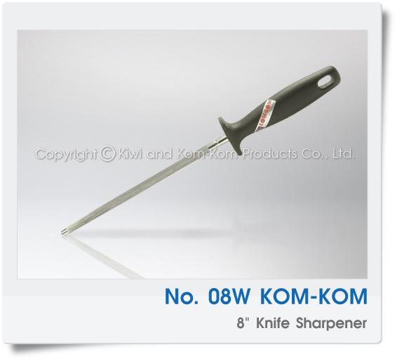 08W มีดครัว มีด คมคม  KOM-KOM Brand