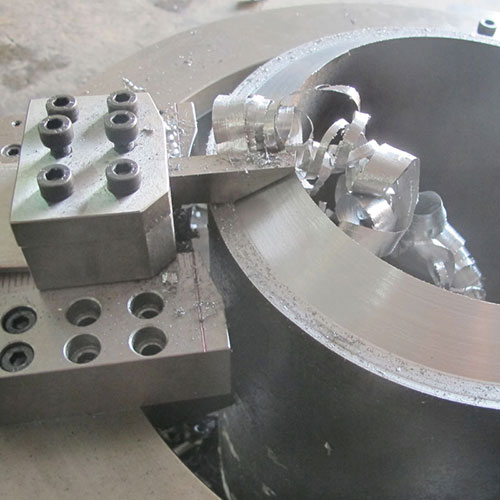 OCP beveling for pipe pneumatic Power