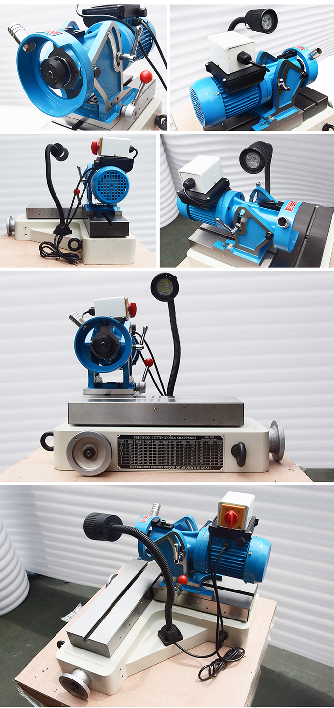GD-66 High Precision End Mill Cutter Grinder Machine