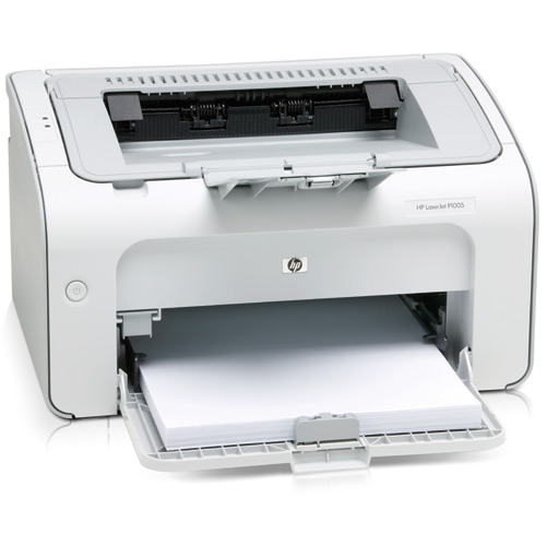 how to connect hp laserjet p1005