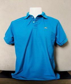 Blue-Green Men's Polo Shirts