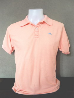Rose Pink men's Polo Shirts
