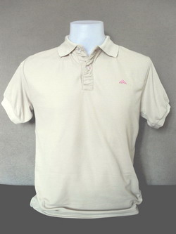 Light Brown Men's Polo Shirts