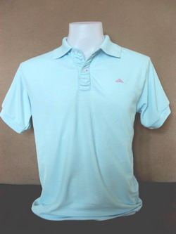 Light Blue Men's Polo Shirts
