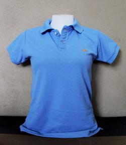Blue-Grey Women's Polo Shirts