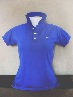 Dark Blue Women's Polo Shirts