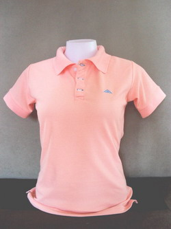 Rose Pink Women's Polo Shirts