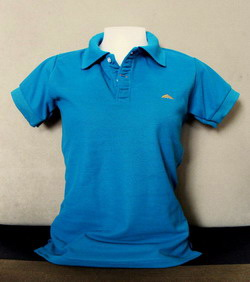Green-Blue Women's Polo Shirts