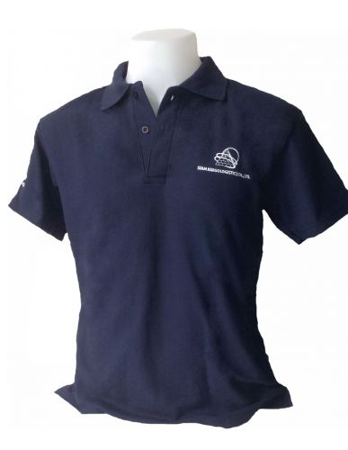 Navy Blue Polo  Shirts