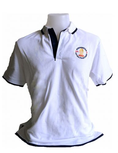 White Staff' Polo T-Shirts