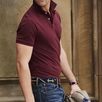 polo shirts mix jeans